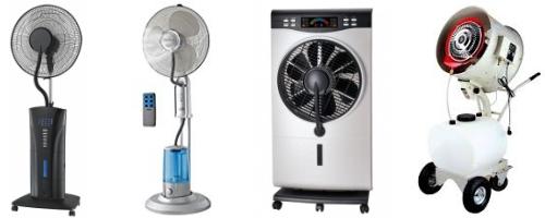 ventilador nebulizador exterior